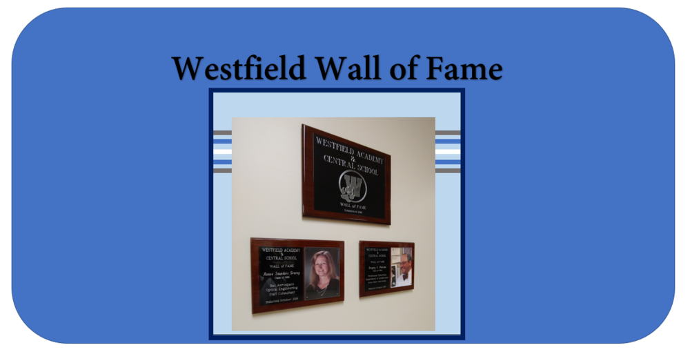Westfield Wall of Fame Applications