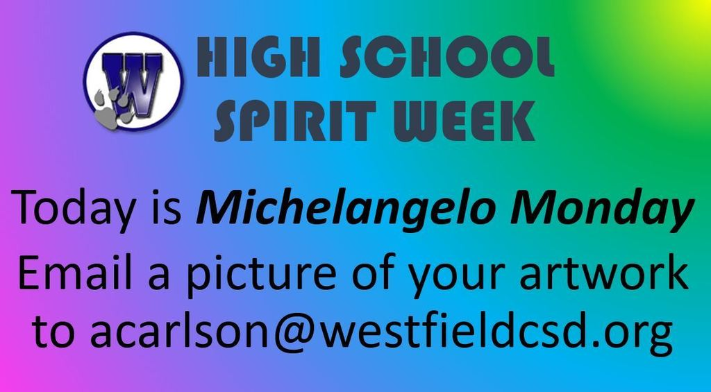 Monday- HS Spirit Week