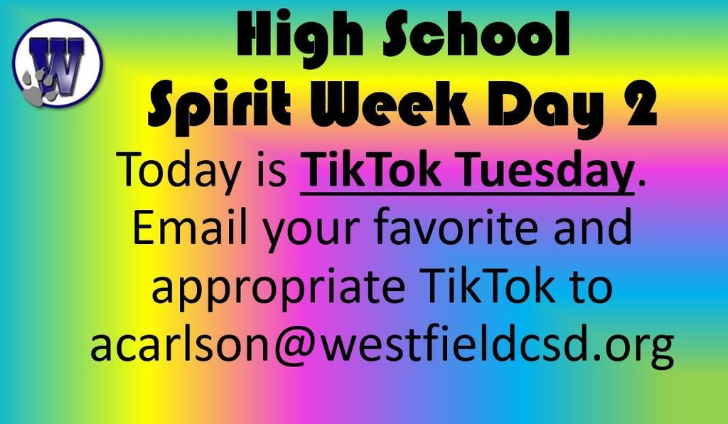 Spirit Week Tues